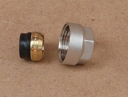 """Klemmring 3/4"""" Eurokonus 15mm weichdichtend (8294#"""