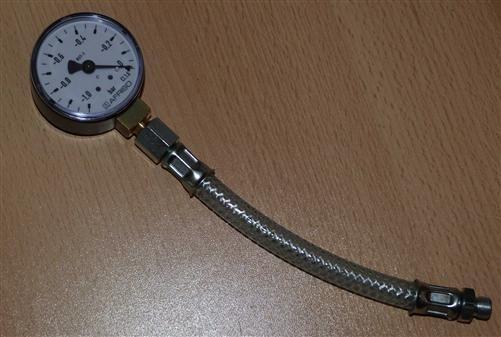 Pumpenvakuummanometer -1 bis 0bar incl.Druckschlauch (6707#