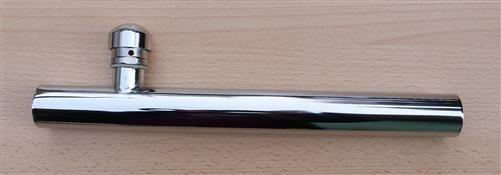 Chromrohr mit Rohrbelüfter Ø=32mm / Länge =250mm (7778#