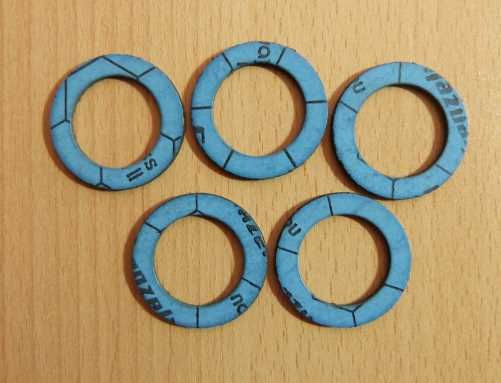Dichtring - Solarflexrohr blau DN 25 (bis 230°C) / 5 Stück (9165#