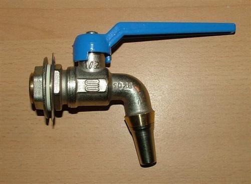 Auslaufkugelhahn für Wassertanks 1/2 Zoll (5282#