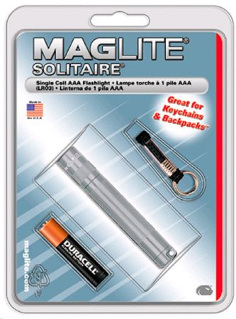 Mag Lite® Mini Solitaire titan 80mm, 2 lm, inkl. 1x AAA-Batterie (10281#