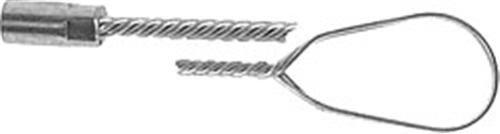 Stiel für Rauchrohrbesen gedrehter Bürstenstiel Länge 1m (6995#