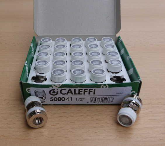 Caleffi Hygroskopischer 1/2 Zoll Heizkörperentlüfter/ VPE=25Stk (8659#