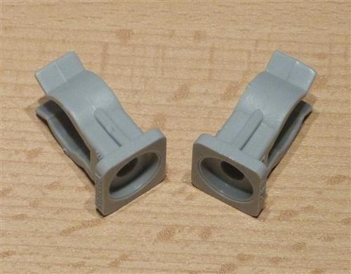 Rohrclips grau 2 Stück Durchmesser 16 mm (6501#