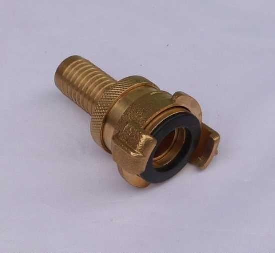 Messingschnellkupplung für 3/4 Zoll Schlauch => Saug + Hochdruckkupplung (4452#