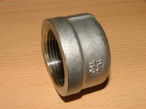 """Edelstahl-Fitting Kappe rund (V2A) 1""""IG ( 4167#"""