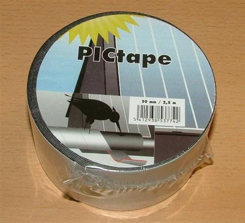 PIC Band / 50mm breit x 2,5m / für Solarisolierung (4987#