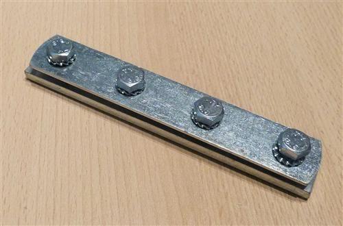 Schienenverbinder verzinkt, Profil 27/18mm + 28/30, 1Stück (6841#
