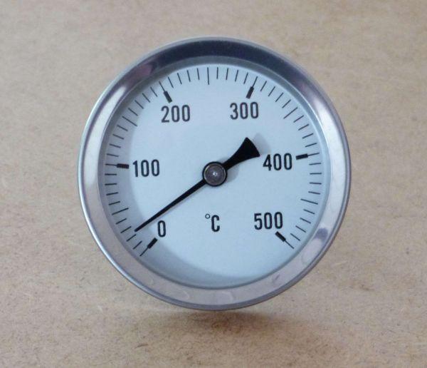 Pizzaofen Thermometer 0-500°C / 200mm Schaftlänge (10023#