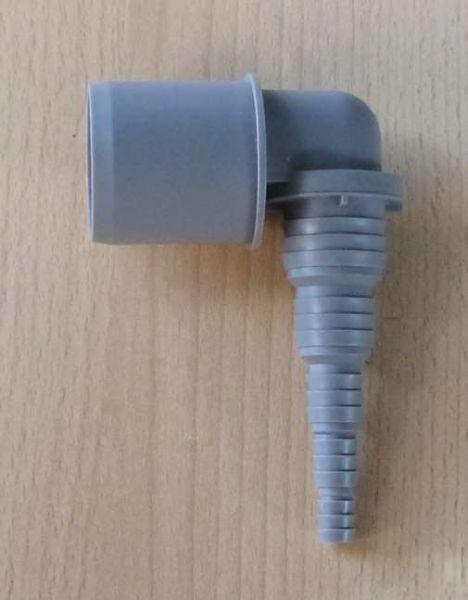 Pumpenwinkel universal = DN 40 x 25-8mm PVC (9572#