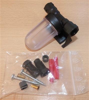 Kondensatgefäß KG 2 Anschlüsse universell für pneumatische Tankanzeigen (7130#