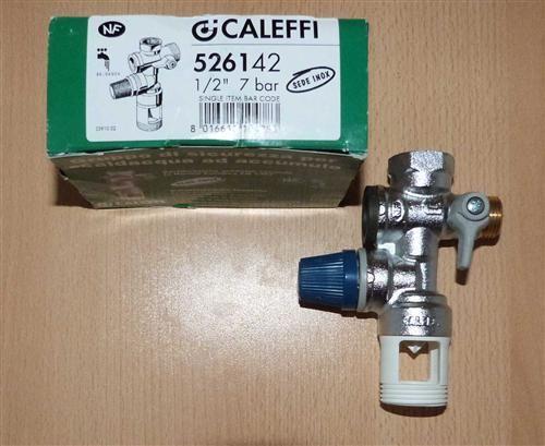 """Caleffi Sicherheitsgruppe 1/2"""" für Trinkwasser / NEUWARE (5848#"""
