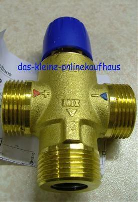 Mischventil 20 - 40°C / 1Zoll AG Sonder./ Taconova (10231#